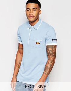 Ellesse+L.S+Polo+Shirt