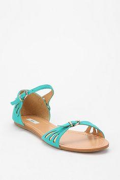 Kimchi Blue Scallop Sandal