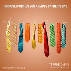 """""""TURNOVER WISHES YOU A HAPPY FATHER´S DAY"""""""