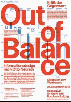 lamm kirch out of balance informationsdesign nach otto neurath 1 poster by Lamm & Kirch