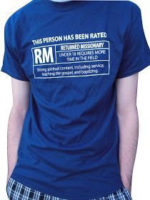 LDS Mission Tees: Rated RM 18 and 19 T-shirts On Sale!