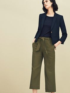 I like the overall look, though high-water pants on me, as a short person, just make me look even shorter!