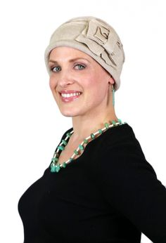 Zelda cloche hat by Parkhurst is perfect for office wear for chemo patients  and women with d01bd4fab0f2