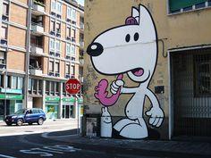 Dog Street Art