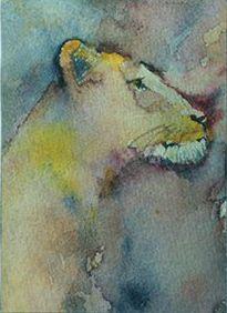 Luigi Barra Pittore: Lion III