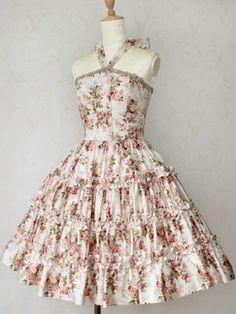 Lolibrary   Victorian Maiden - JSK - Rococo Bouquet Brigid JSK