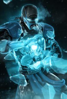 Sub-Zero Iron Man - Iron MaSH! on Behance