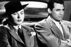 """""""Notorius,"""" Ingrid Bergman and Cary Grant. 1946 RKO"""