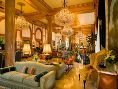 Le Pavillon Hotel, New Orleans. Rated 9.0