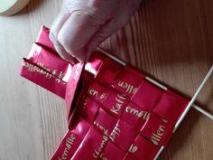 Finsk taske 2 Paper Weaving, Crafts, Manualidades, Handmade Crafts, Craft, Crafting