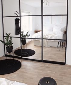 Tag Your Friends Who'd Love This Design! Swipe left to see more … 📍Interior Goals? Tag Your Friends Who'd Love This Design! Swipe left to see more from this beautiful cosy house design by in Norway . Bedroom Built In Wardrobe, Closet Bedroom, Home Bedroom, Modern Bedroom, Master Bedroom, Bedroom Small, Modern Wardrobe, Big Bedroom Mirror, Wardrobes For Small Bedrooms