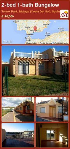 2-bed 1-bath Bungalow in Torrox Park, Malaga (Costa Del Sol), Spain ►€170,000 #PropertyForSaleInSpain