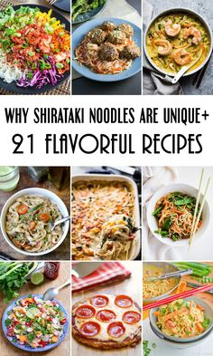 21 outstanding Shirataki Noodle Recipes to Enjoy This Zero-Calorie No-Carb Pasta from Japan! #glutenfree #paleo #keto #lowcarb | cookingtheglobe.com