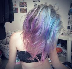 rainbow hair | Tumblr