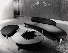 Freeform sofa, Noguchi © The Isamu Noguchi Foundation and Garden Museum, NY 1946