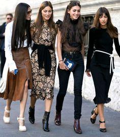 Milan Street Style Fall 2015 - Fashion Week #SquadGoals #milan