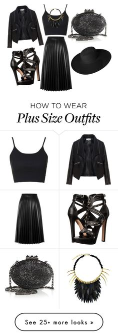 """""""Believe that"""" by briannarudley1 on Polyvore featuring Topshop, Ayaka Nishi, Aviù, Zizzi, Alexander McQueen, Christian Louboutin and Dorfman Pacific"""