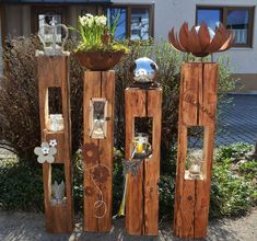 The Effective Pictures We Offer You About cement Garden Art A quality picture can tell you many things. Cement Garden, Metal Garden Art, Metal Art, Diy Spring Weddings, Le Hangar, Pinterest Garden, Father's Day Diy, Orchid Care, Rustic Gardens