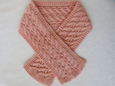 Caswell Scarf pattern by Jan Cullen #free #knitting #scarf