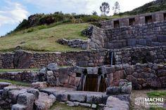 Tambomachay Sacred Water Fountain #Tambomachay #Fountain #WaterCusco #Saqsayhuaman #BestOfPeru #Cusco #Peru #MachuTravelPeru #CustomMadeTours #Travel #SharingPleasantMoments