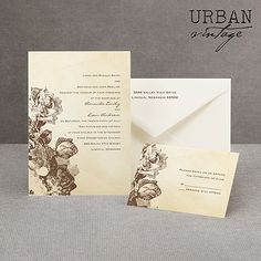 love these wedding invitations!