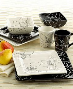 Laurie Gates Dinnerware, Anna Collection - Casual Dinnerware - Dining & Entertaining - Macy's