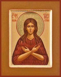 Photini of Palestine Russian Orthodox icon Fresco, Typical Russian, Heading Fonts, Orthodox Christianity, Russian Orthodox, Religious Icons, Orthodox Icons, Palestine, Christian Life