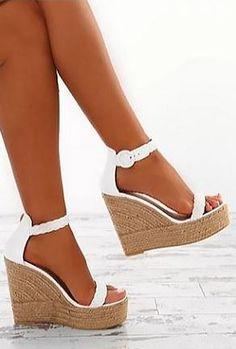 1b63ba385012 Gabe - braided wedge sandal. Women s EspadrillesWedge Sandals ...