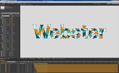 サイバー調キネティック タイポグラフィ搭載のAfter Effectsコンポジション:Animography Tech Pack 2(アニモグラフィ テックパック 2)/ aescripts