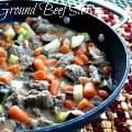 Linked to: www.mommyskitchen.net/2013/09/skillet-ground-beef-stew.html