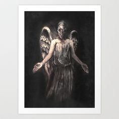 Ive Forgotten Why I Shouldnt Blink Art Print by Alice X. Zhang - $15.00