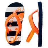 Ahoy, matey These cute pirate-themed flip flops are ideal for all his expeditions on and off the beach.