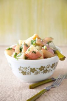 Italian Potatoes (aka Mayo-Free Potato Salad with Tarragon Vinegar ...