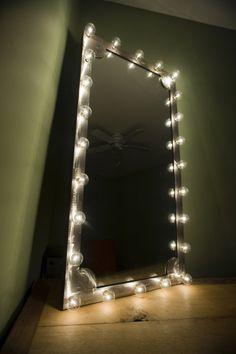 mirror with lighting. industrial mirror by richardbonasera on etsy 16000 with lighting