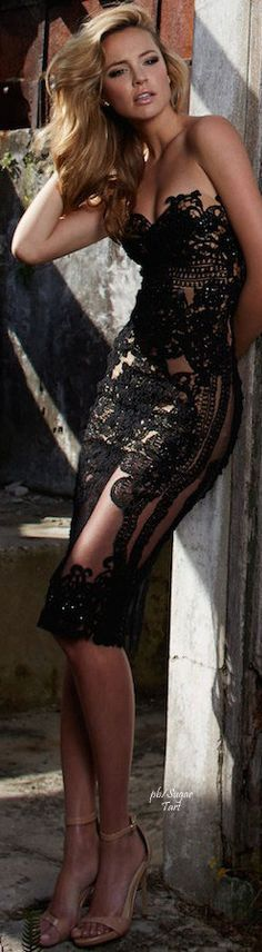 black lace dress jaglady
