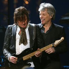 Jon & Richie - Class of 2018 Rock 'n Roll Hall of Fame