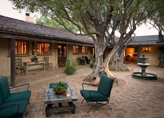 Hacienda Homes with Courtyard | Downtown Hacienda Custom Home | Young Construction, Santa Barbara