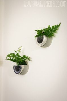 This Is So MEa Tyvek Wall Planter Take A Walkin The - Cool diy wall planter