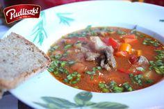 Rozgrzewająca i aromatyczna zupa gulaszowa. #gulasz #zupa #pudliszki #przepis