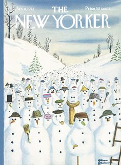 The New Yorker - Saturday, January 8, 1972 - Issue # 2447 - Vol. 47 - N° 47 - Cover by : Charles Addams