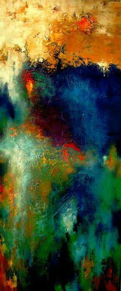 Combinazione di colori...Olio su tela.....