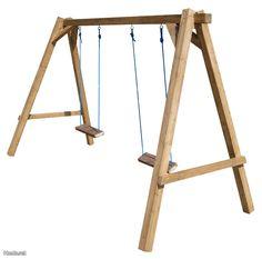 Puinen pihakeinu / Wooden swing