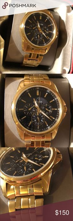 24a21aa37d Citizens Gold watch Used worn but in good condition Citizen Accessories  Watches Omega Watch, Citizen