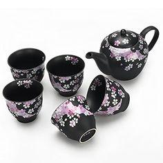Seb's Kitchen Japanese Handcrafted Cherry Blossom Tea Gift Set – Sara Kirsch Tea Gift Sets, Tea Gifts, Asian Tea Sets, Matcha Set, Japanese Tea Set, Porcelain Dolls For Sale, Tea Sets Vintage, Antique Tea Sets, Teapots And Cups