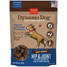 Dynamo Dog Hip and Joint Support Supplemental Treats