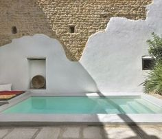 Le Riad d'une créatrice marseillaise - Blueberry Home Outdoor Spaces, Outdoor Living, Outdoor Decor, Le Riad, Swiming Pool, Small Pools, Dream Pools, Swimming Pool Designs, Cool Pools