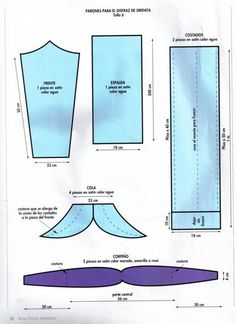 Ideas para disfraz de sirena con patrones de la cola | Trato o truco