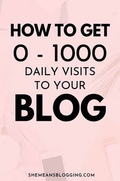 Blog Traffic For Beginners - How To Get 0-1000 Daily Blog Readers Marketing Digital, Online Marketing, Content Marketing, Affiliate Marketing, Media Marketing, Make Money Blogging, How To Make Money, How To Get, Blogging Ideas