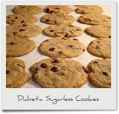 Diabetic Sugarless Cookies