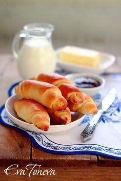 Rohliky - Czech bread rolls